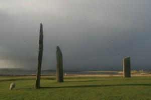 Stones of Stenness in Winter